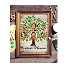 Картина Семейное древо, с фото