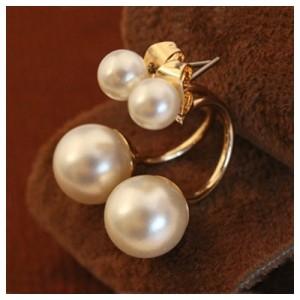 Серьги Pearly pair