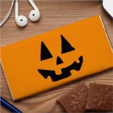 Шоколадная открытка Тыква