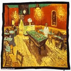 Платок Ночное кафе Ван Гог