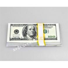 Подарочный конверт для денег «100 долларов»