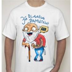 Мужская футболка Эй Dj, даешь Рамштайн!