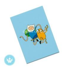 Обложка на паспорт Фин и Джейк