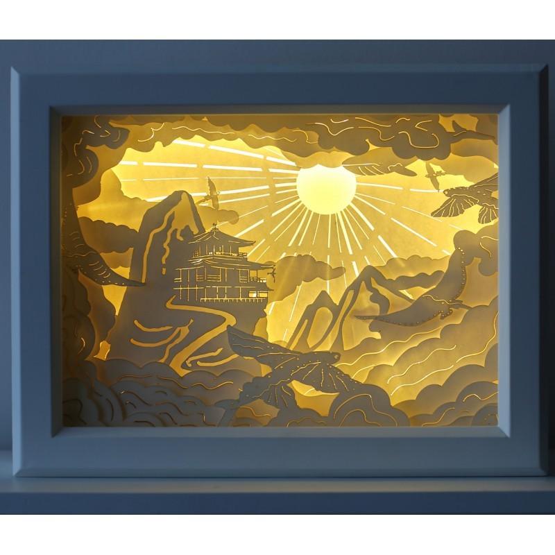 Световая диорама Храм в горах