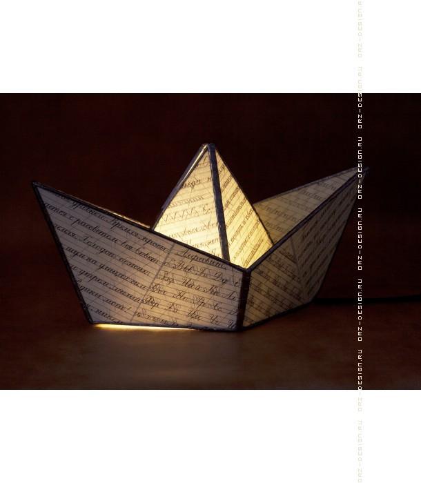 Лампа Модель кораблика