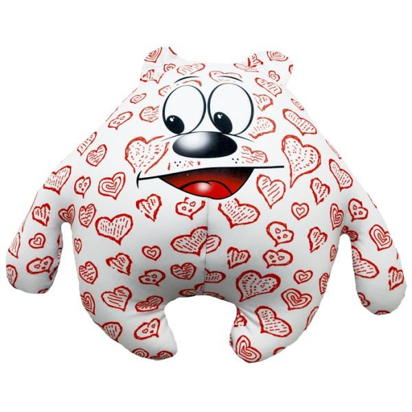 Подушка-игрушка Мишка влюбленное сердце