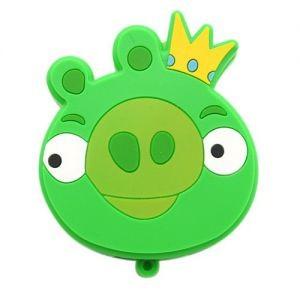Флешка Angry Birds Свинка c короной, 4Гб