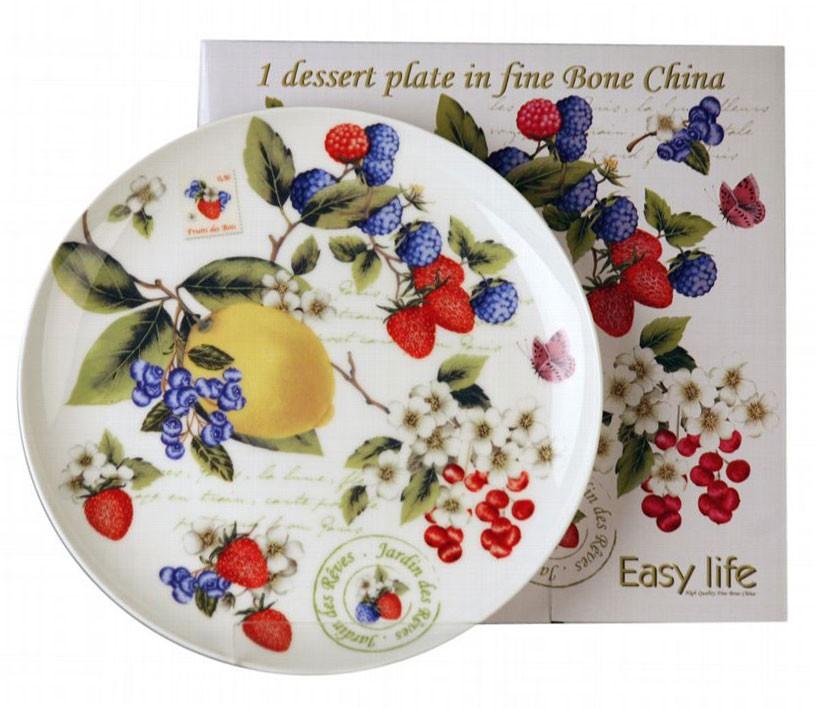 Десертная тарелка Садовые ягоды