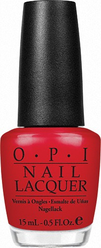 Лак для ногтей Color So Hot It Berns, 15 ml, OPI
