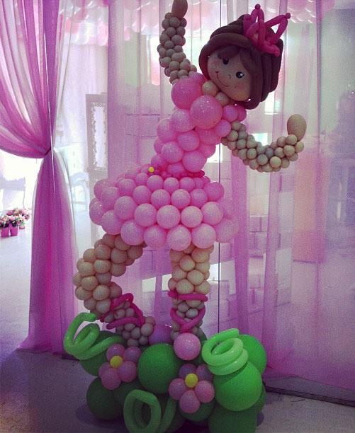 Фигура из шаров Балерина