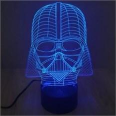 Настольная 3D-лампа Дарт Вейдер