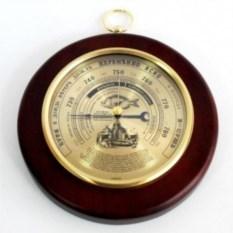 Барометр Рыбак большого диаметра