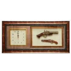 Настенные часы с декоративными пистолетами