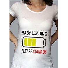 Футболка для беременных Baby loading