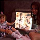 Детский ночник с коллажом из ваших фотографий