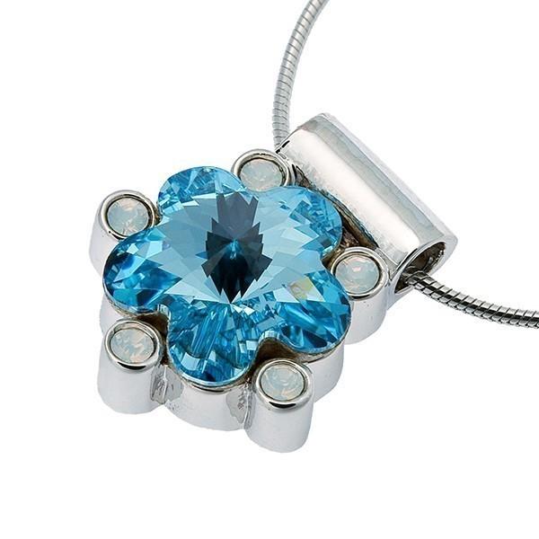 Подвеска с кристаллами Swarovski Цветок