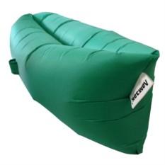 Надувной диван Ламзак зеленого цвета