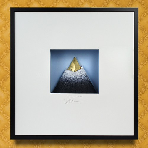 Объемная картина  К Золотым вершинам