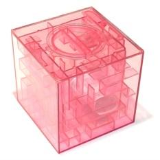 Копилка-головоломка Лабиринт розовый