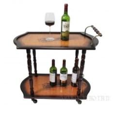 Сервировочный стол-бар 75х40х64,5 см