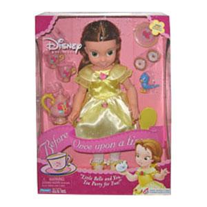 Кукла красавицы Бель в детстве