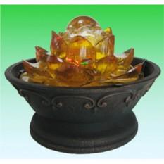 Декоративный фонтан Золотой индийский лотос