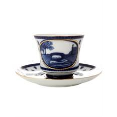 Чайная чашка с блюдцем, форма Банкетная, рисунок Верхне-Лебяжий мост