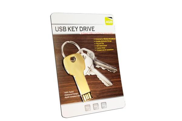 Флешка Ключ с гравировкой