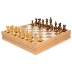 Деревянные шахматы и шашки