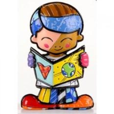 Декоративная мини-фигурка Britto Мальчик-школьник Тедди
