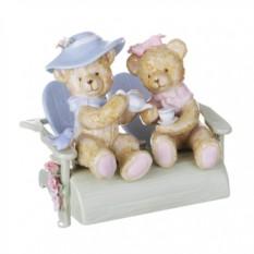 Музыкальная фигурка Два медвежонка