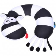 Подушка-игрушка под шею «Зебра»
