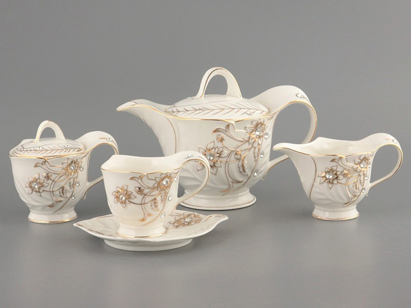 Чайный сервиз на 6 персон 15 пр. 1000/250 мл.