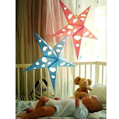 Дизайнерский Светильник для детей «Облачка»