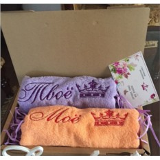 Именные банные полотенца
