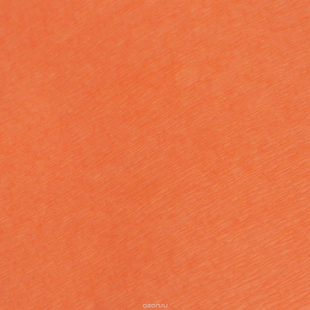 Гофрированная бумага Koh-I-Noor, оранжевая (200x50 см)