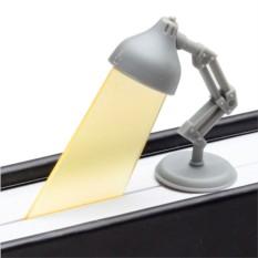 Серая закладка Lightmark