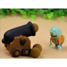 Фигурка Растения против Зомби с пушкой