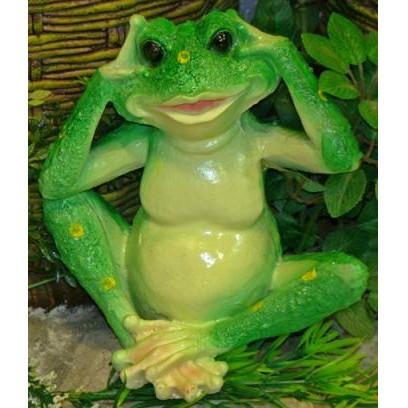 Садовая фигурка Лягушка сидячая