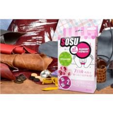 Японские педикюрные носочки Sosu с ароматом розы (2 пары)