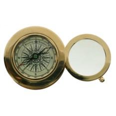 Настольный сувенир Лупа и компас