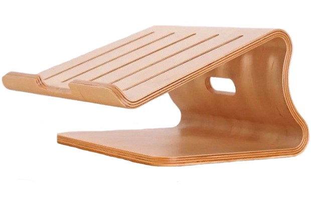 Подставка Samdi Wood Stand Holder (Wood Birch) для Macbook