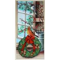 Картина Swarovski Зимние краски. Предновогодняя пора