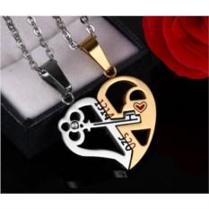 Кулон для двоих » Сердце с ключом»