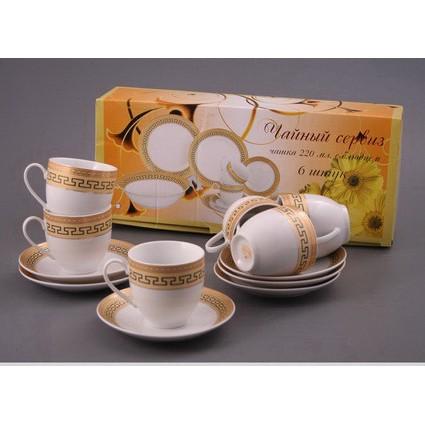 Чайный набор на 6 персон «Версаче»