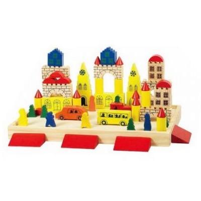 Игрушка из дерева Замок-конструктор