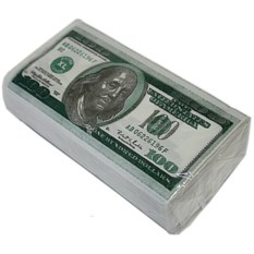Салфетки Пачка 100 $