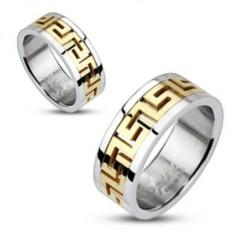 Мужское кольцо из стали Spikes R-M0010