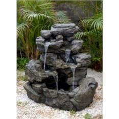 Декоративный фонтан для сада Горный водопад