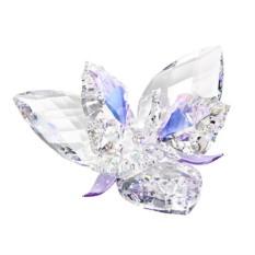 Хрустальная статуэтка Королевский цветок — александрит